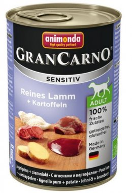 Animonda Gran Carno Sensitiv Jagnięcina + ziemniaki 400g