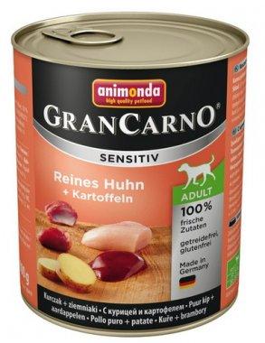 Animonda Gran Carno Sensitiv Kurczak + ziemniaki 800g